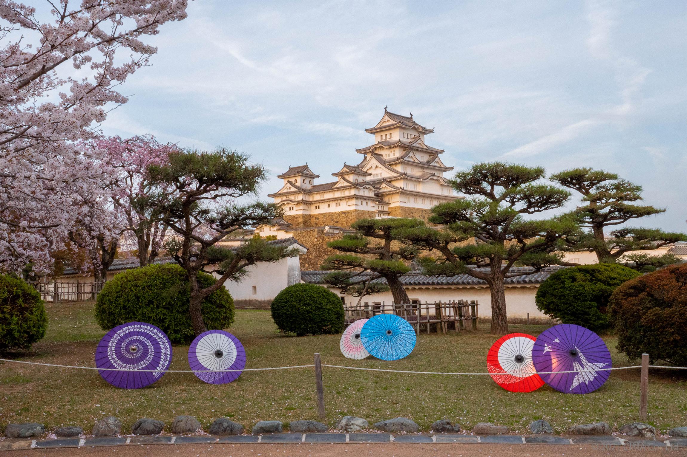 姫路城,西の丸,演出照明