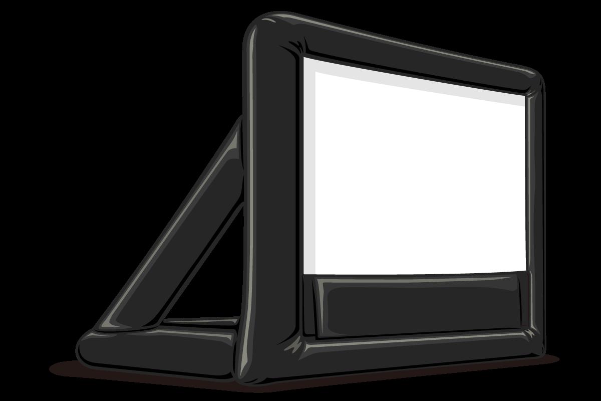 エアー型スクリーン