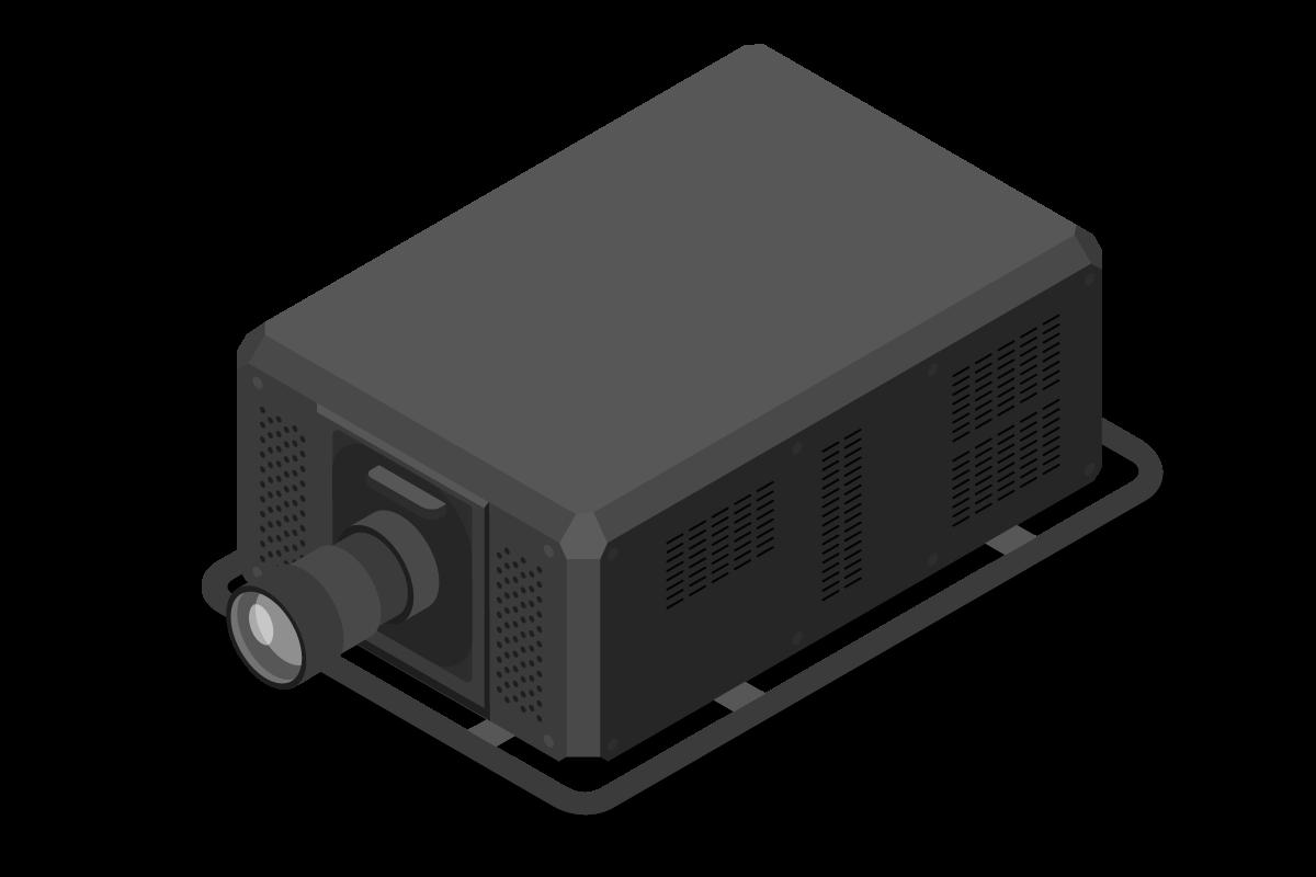 高輝度プロジェクター