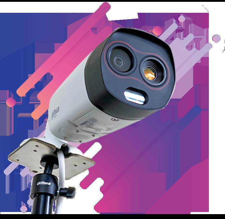 AI顔認識・体表面温度測定 サーマルカメラシステム